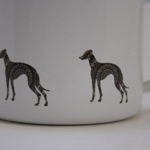 whippet greyhound mug