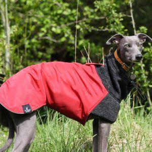 Waterproof Fleece Lined Whippet Coats Greyhound Italian