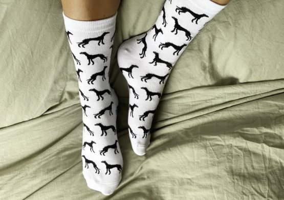 whippet greyhound socks