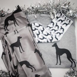 whippet greyhound pyjama