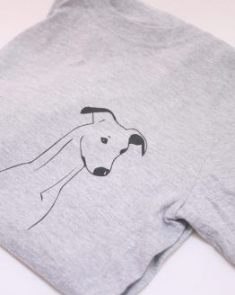 whippet greyhound tshirt